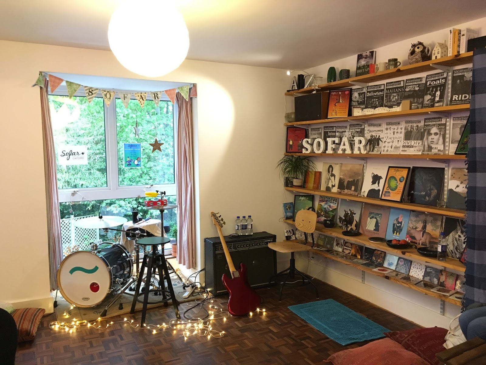 cool music and things: LIVE: Sofar Sounds Oxford house gig