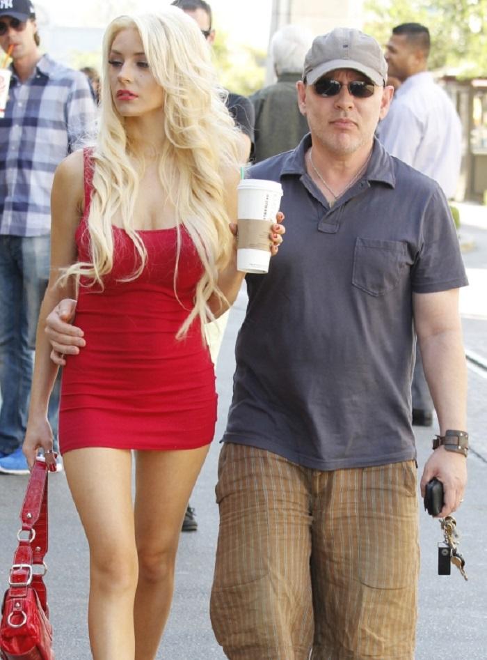 Courtney Stodden și actorul Doug Hutchison
