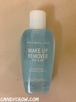 Maybelline makeup remover  Review eye makeup remover review