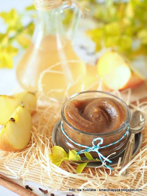 maselko jablkowe, powidla jablkowe, mus jablkowy, przyprawy korzenne, jablka, przetwory z jablek, przetwory domowe,