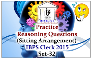 Race IBPS Clerk 2015- Practice Reasoning Questions (Puzzles) Set-31