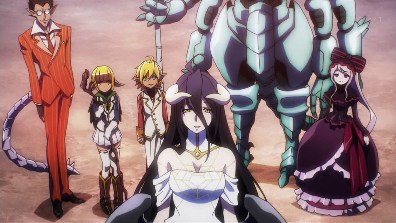 Anime Character 2 : The random review overlord anime