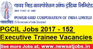 PGCIL-152-Executive-Trainee-Vacancies