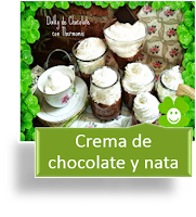 CREMA DE CHOCOLATE Y NATA