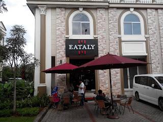 Eataly Resto, Green Lake City, Jakarta Barat