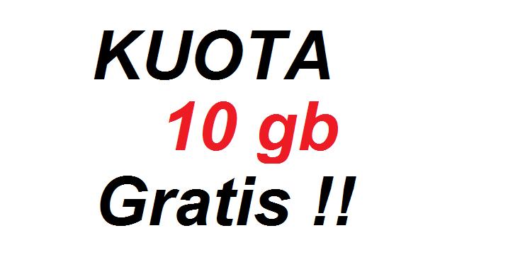 Cara Dapat Kuota Gratis Telkomsel 10 GB