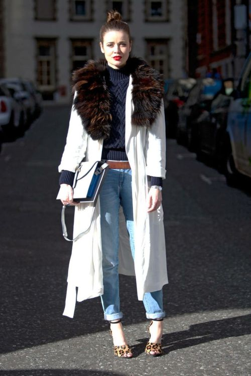street style: winter chic from London Fashion Week 2014