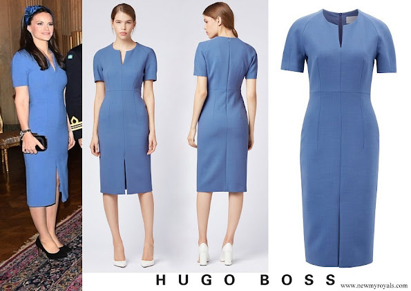 Princess Sofia wore Hugo Boss Darera business dress