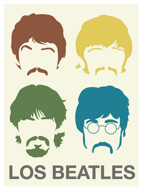 beatles, cojines, stencil, estarcido, beatlemania, diys,