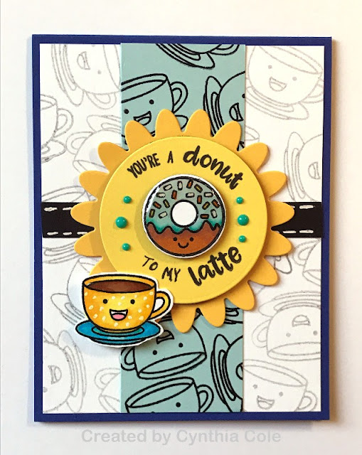 Sunny Studio Stamps: Breakfast Puns Customer Card Share by Cynthia Cole