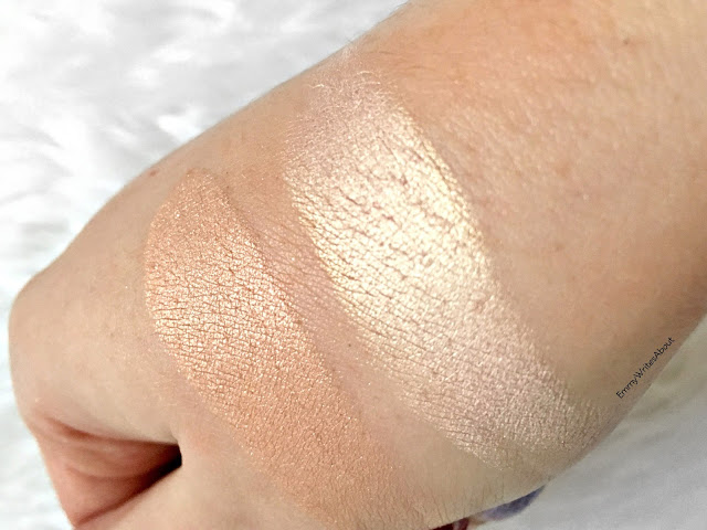too faced highlighter swatches