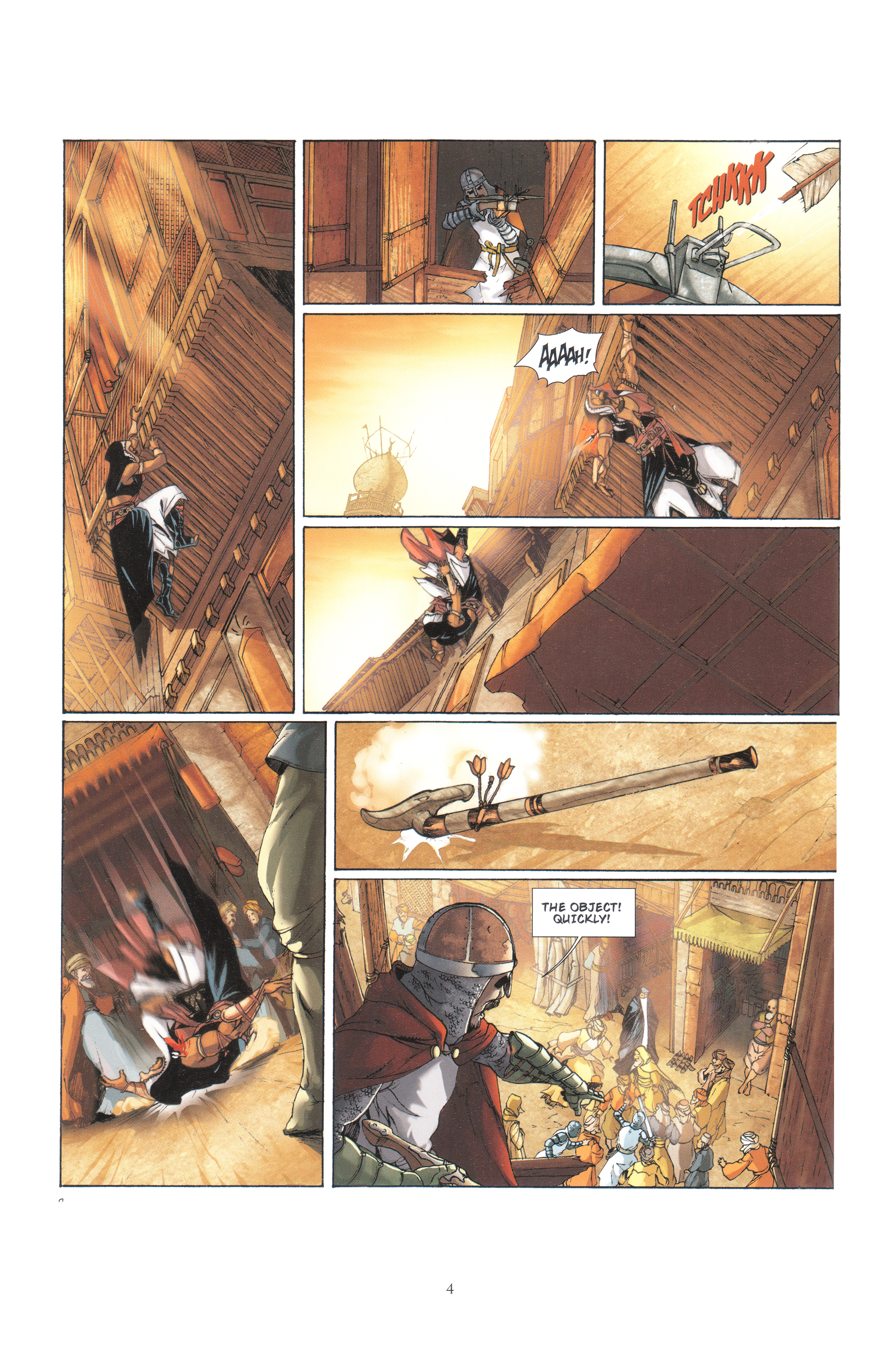 Read online Assassin's Creed (2012) comic -  Issue #4 - 4