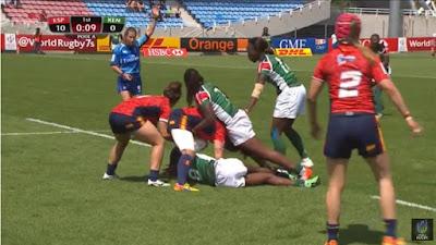 Spain vs Kenya PyeongChang 2018 Rugby Sevens