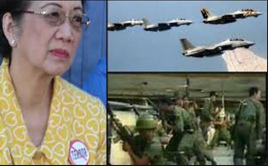 """CONFIRMED! CIA ibinulgar ang mga Dokumentong nagpapatunay na si Cory Aquino ay nag request ng """"airstrikes"""" laban sa mga Filipinong Sundalo noong 1989!"""