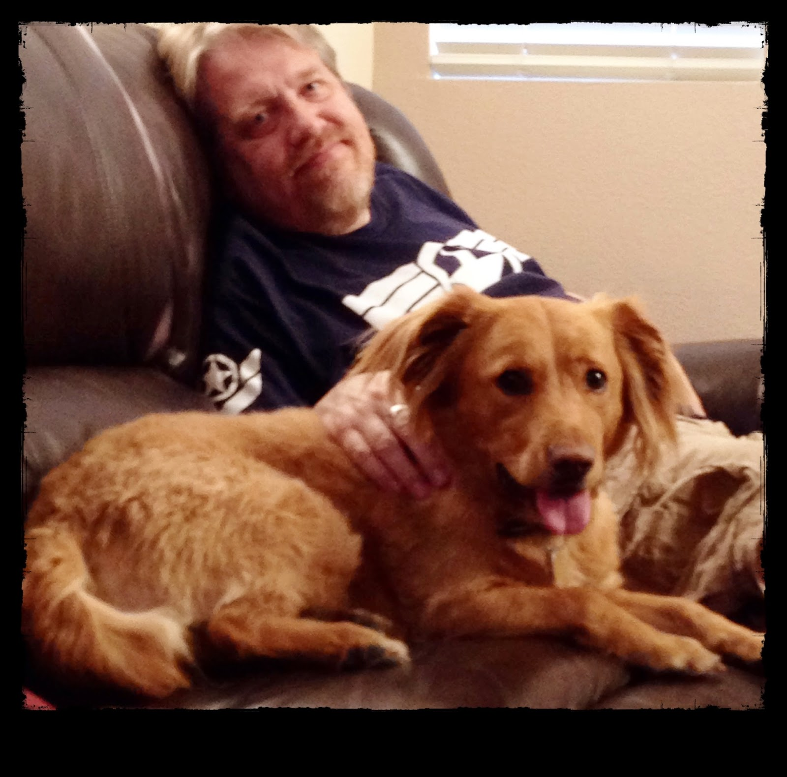 Man's (new) Best Friend, 11-8-2014 (The 3 Rs Blog)