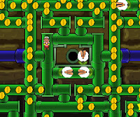 Here is #mario #Pacman where the #Phirana have invaded the pipes from the #Mushroom #Kingdom! #MarioGames