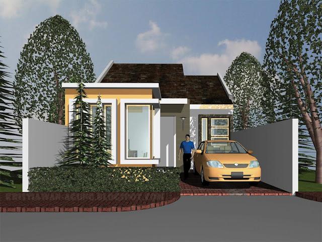 Desain exterior rumah impian sederhana