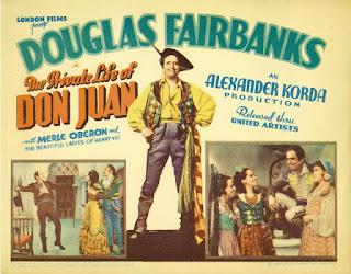 La vida privada de Don Juan (1934)