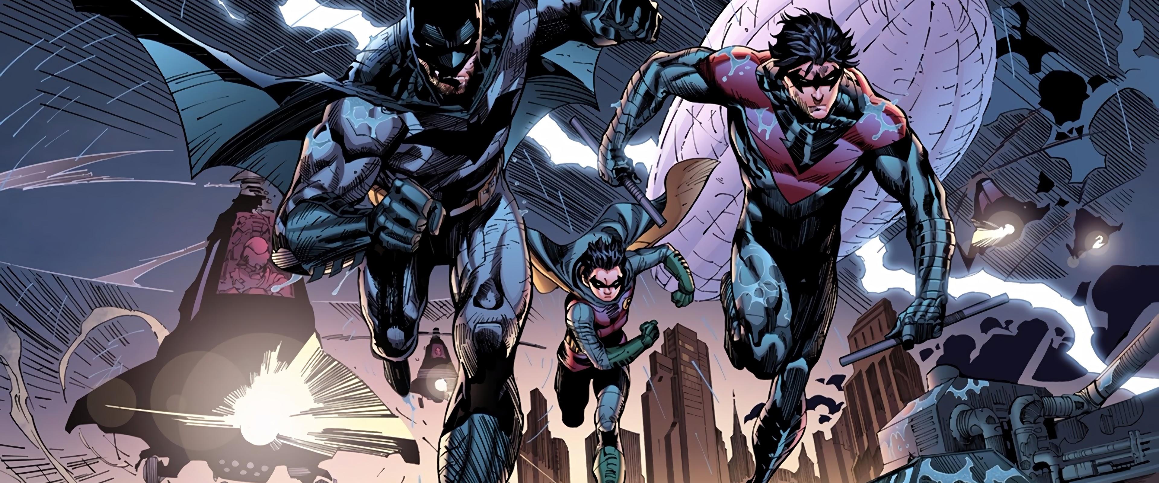 Batman Nightwing Robin 4k Wallpaper 21