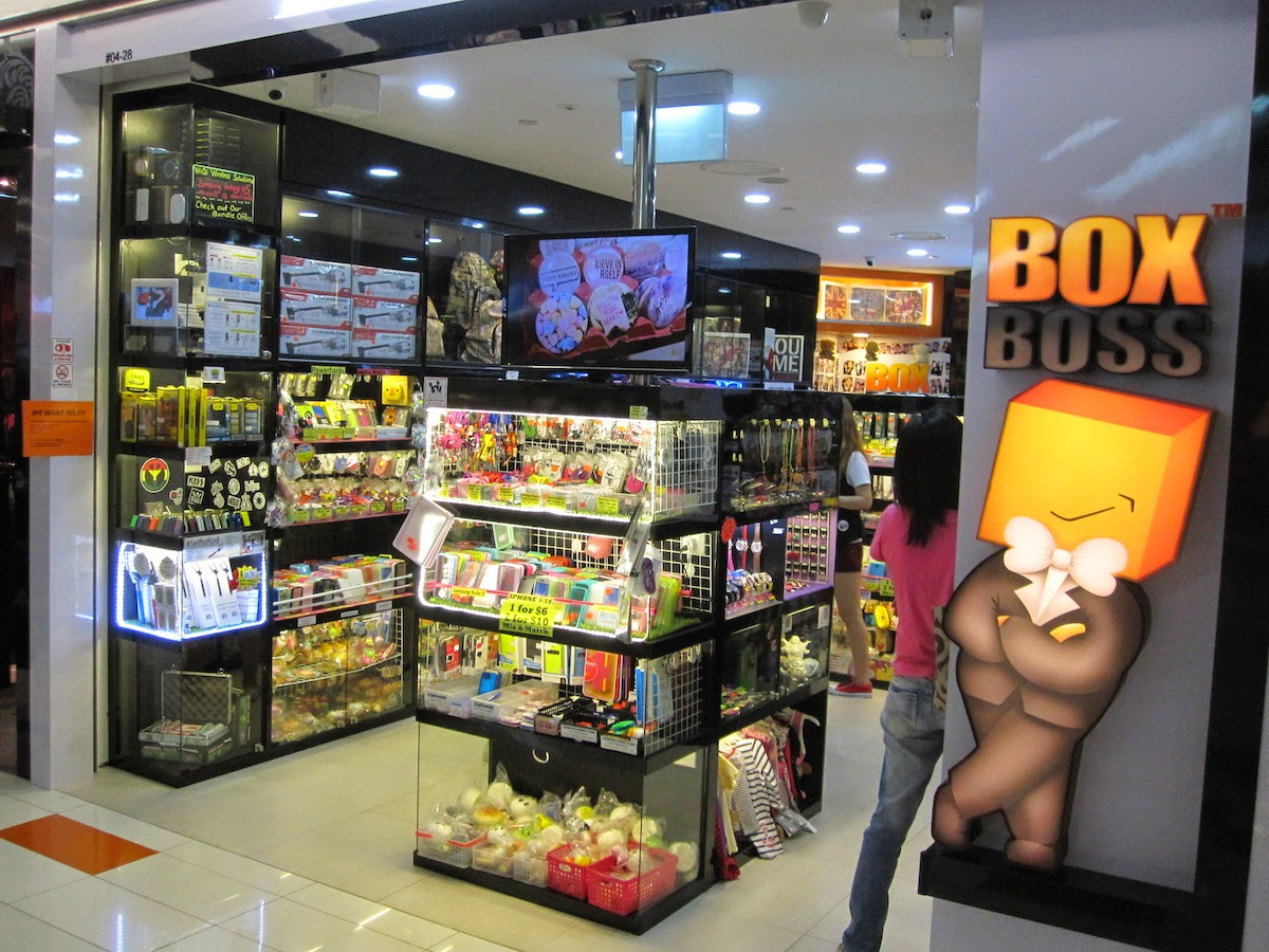 Shopping at Clementi Mall Part II - Box Boss ~ Smithankyou