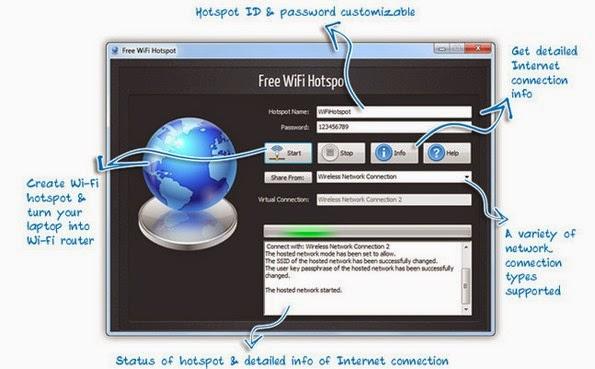 Free WiFi Hotspot application