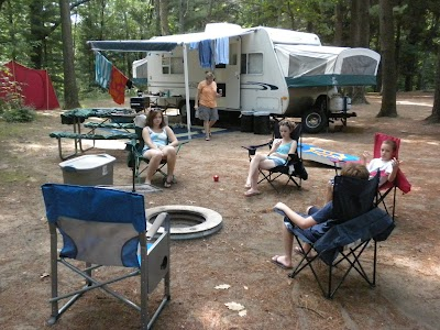 Our RV Camping trip to Montague, Michigan: Part II - Blue Lake, Silversides & Grand Valley