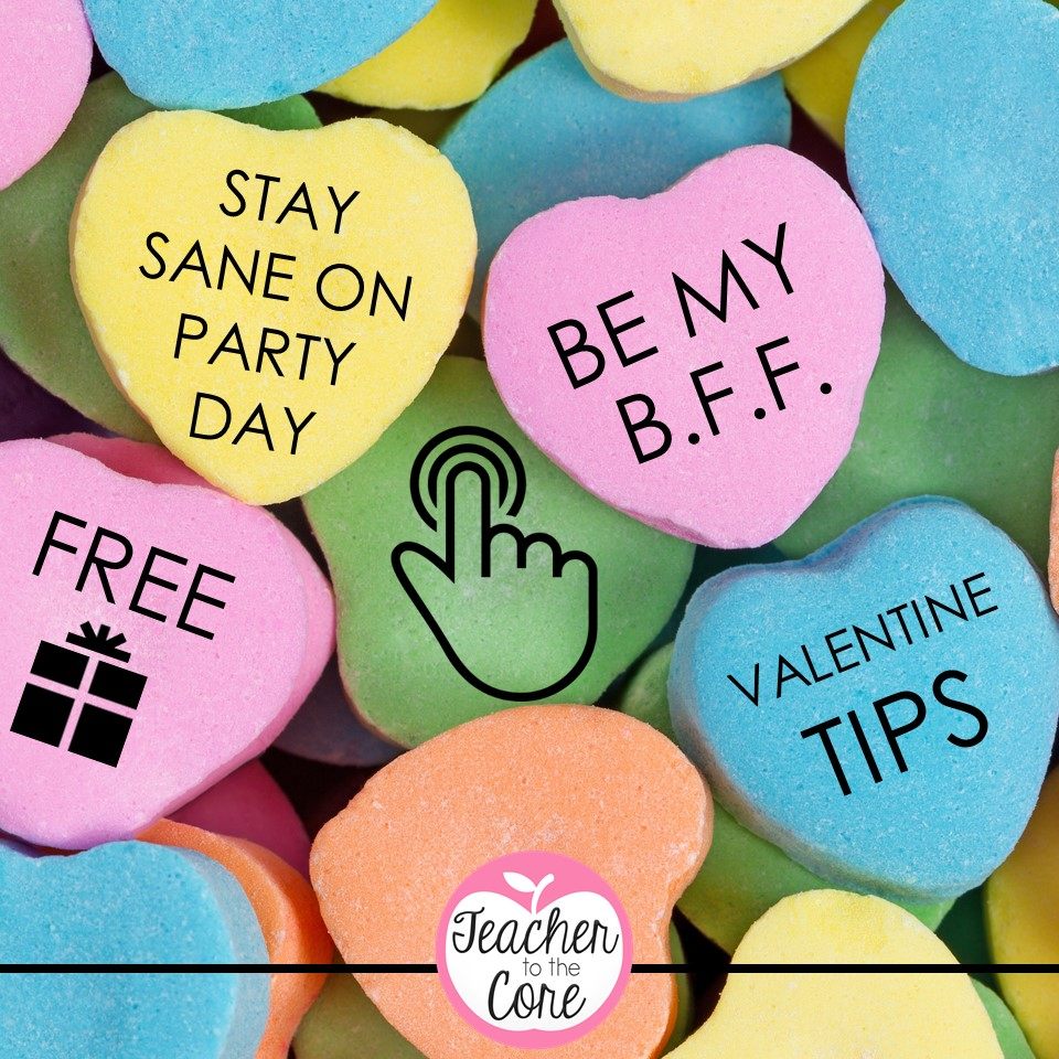 Valentine\'s Day Sanity | Teacher to the Core