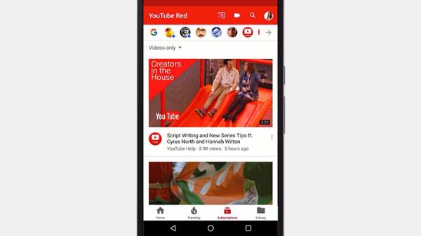 يوتيوب تبدأ في اعتماد واجهة جديدة لتطبيقها على أندرويد