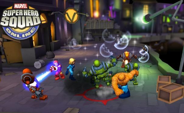Marvel Super Hero Squad Online game