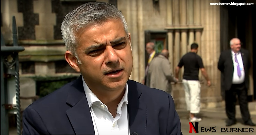 Pakistani Born London's Mayor ' Sadiq Khan '