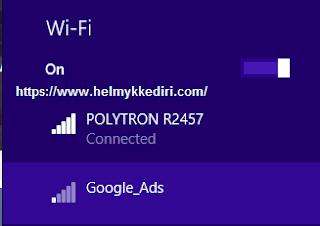 Cara memblokir wifi tertentu diwindows