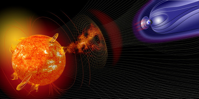 minor geomagnetic storm possible on wednesday