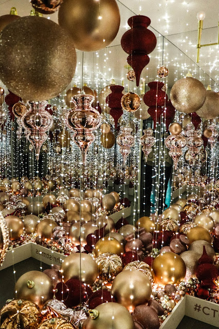 DIY Infinity Mirror Room Yayoi Kusama Christmas Ornament