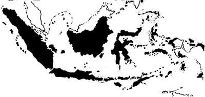 Gambar Peta daerah yang dipengaruhi Islam abad 20