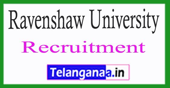 Ravenshaw University Recruitment 2017
