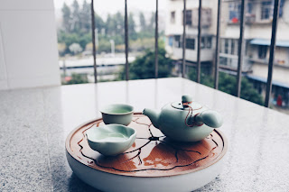 Japanese tea equipment