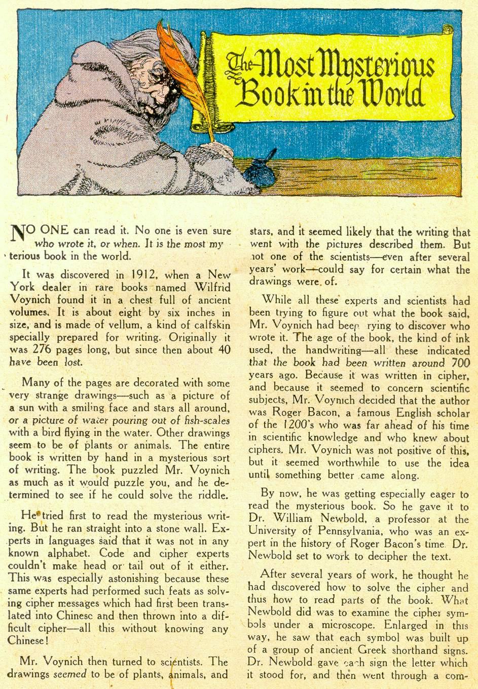 Read online Detective Comics (1937) comic -  Issue #184 - 25