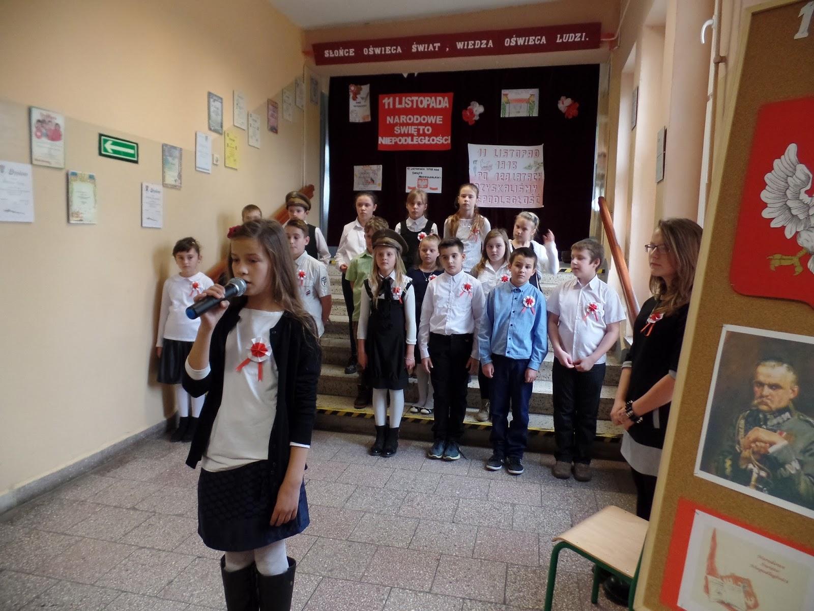 święto Niepodległości Szkoła Podstawowa W Długiem