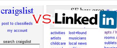 Bulli Sot blogs: Craigslist vs  LinkedIn for career, gigs, or jobs