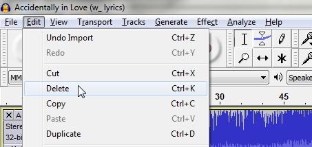 Cara Memotong Lagu dengan Audacity