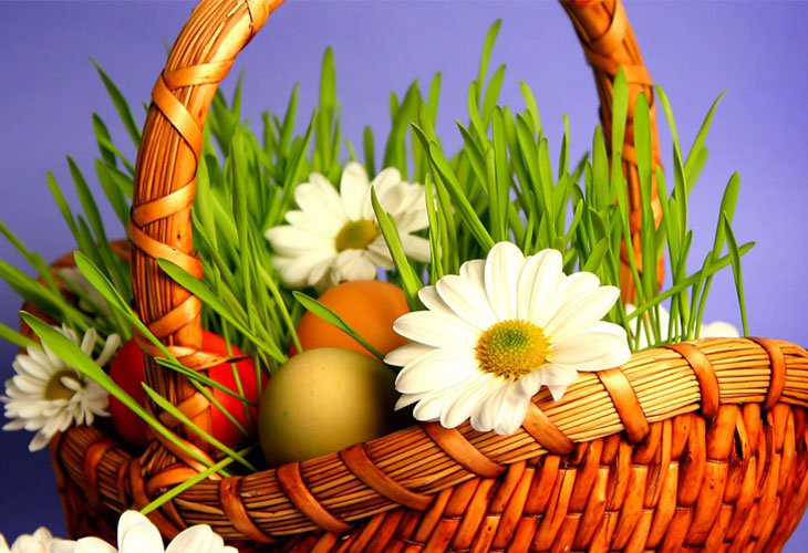 Easter Wallpaper Basket