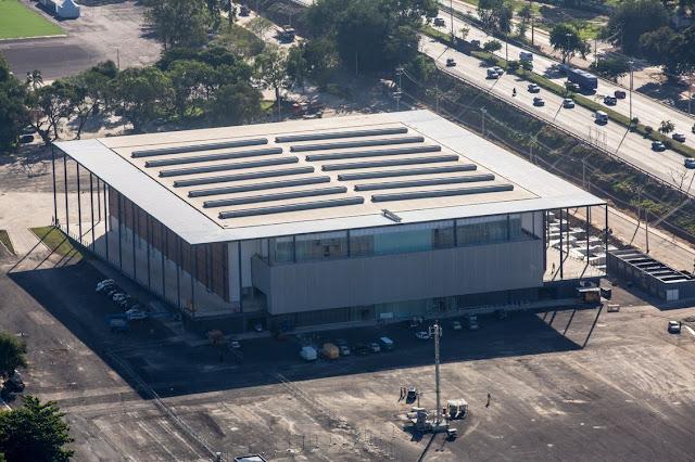 Arena da Juventude se localiza na Zona Norte do Rio [Ministério do Esporte/Divulgação]