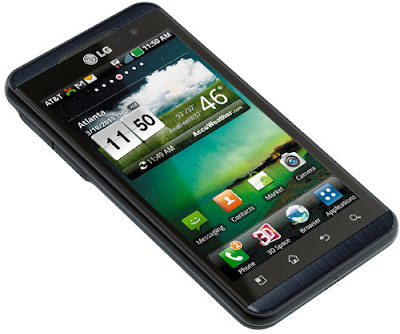 LG Thrill 4G Android Applications.