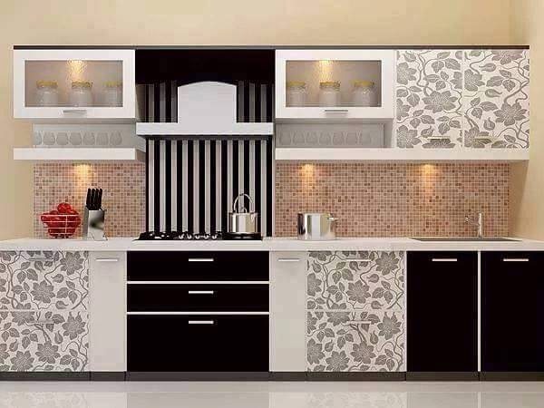 Modern Black and White Kitchen Cabinets Design ideas 2016