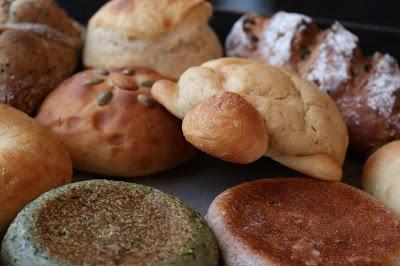 しげぱんのパン(複数)