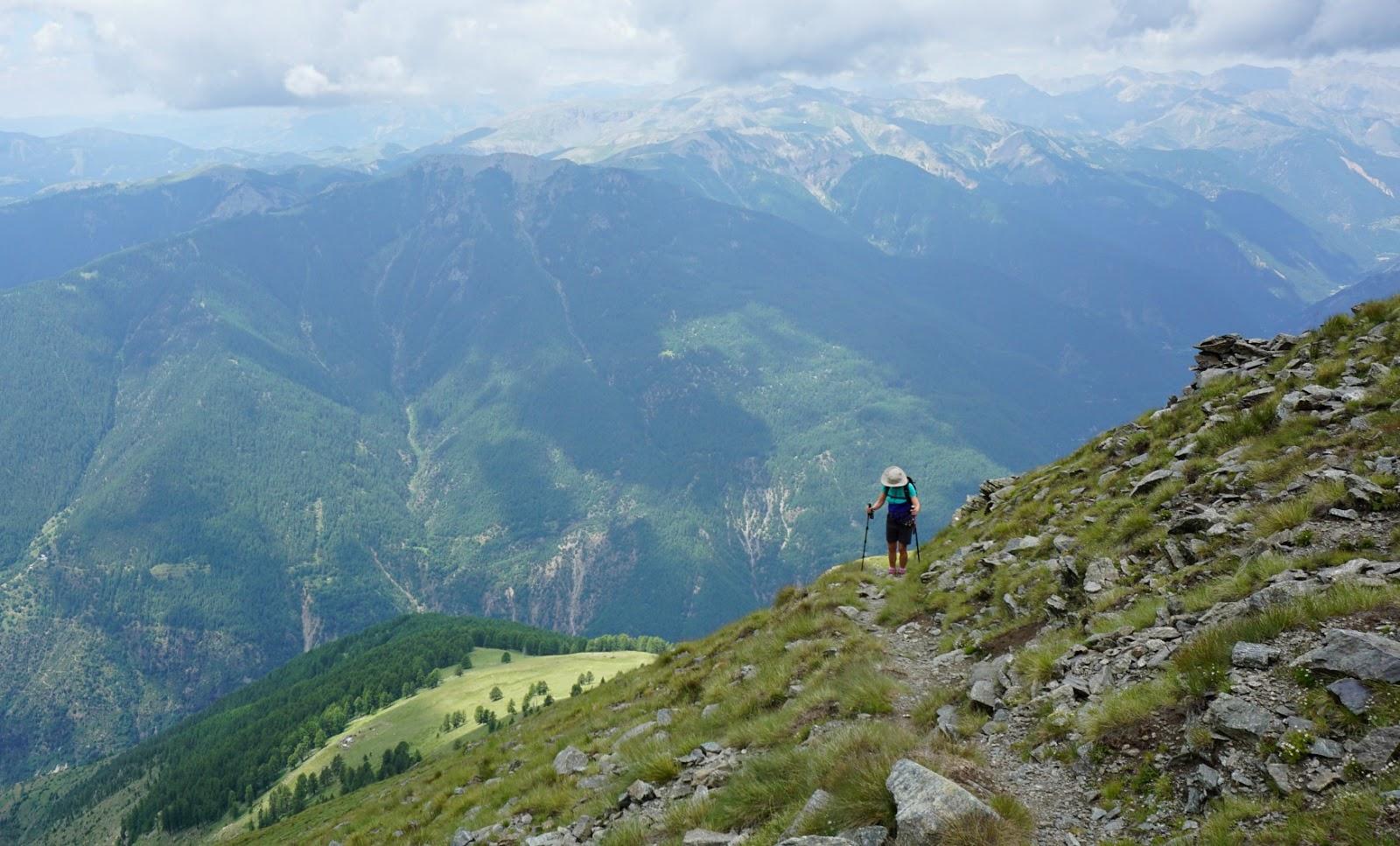 The final push to Mont St-Sauveur