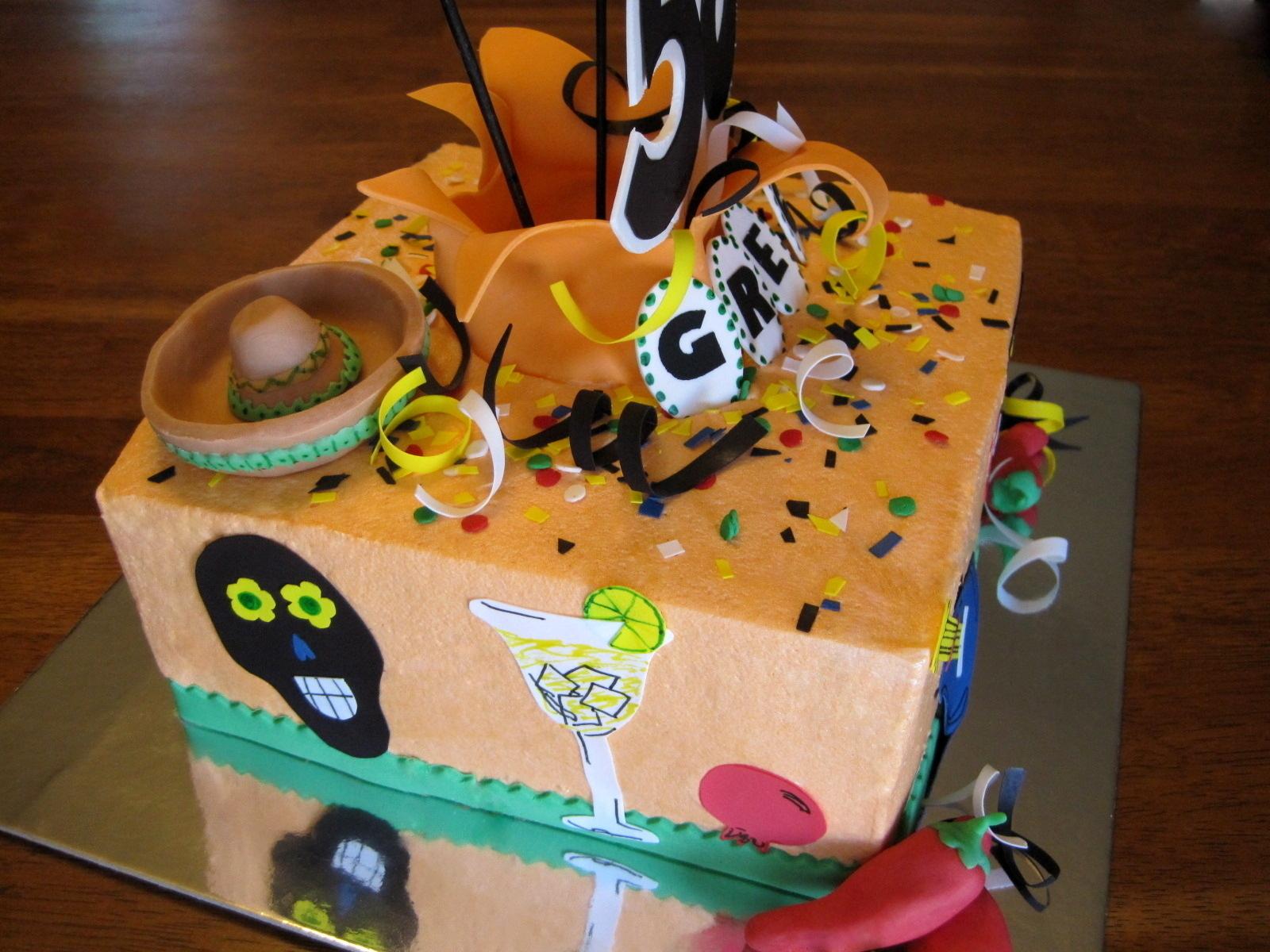 Custom Cakes By Stef Cinco De Mayo Exploding Cake
