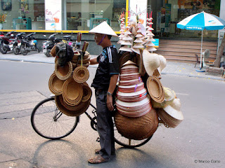 LAS BICICLETAS DE HANOI, VIETNAM