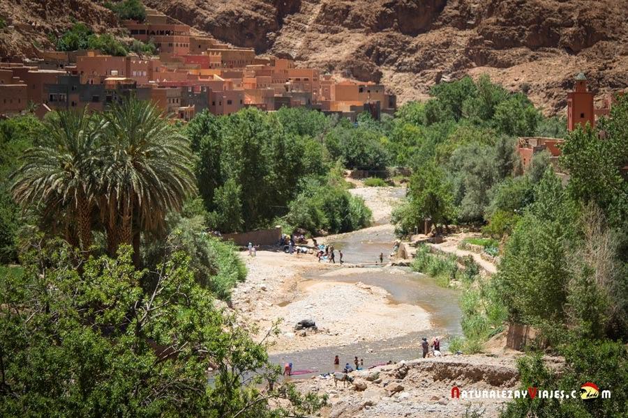 Palmeral de Tinerhir, Marruecos