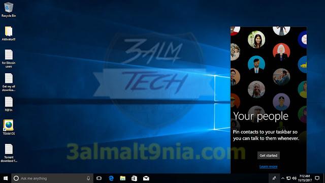 Windows 10 Pro RS3 v.1709.16299.64 En - عالم التقنيه
